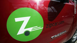 Zipcar is a company that effectively uses technology to help people make better use of their stuff, says Lisa Gansky.
