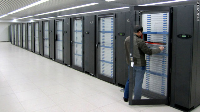 The supercomputer was unveiled yesterday at the Annual Meeting of National High Performance Computing.