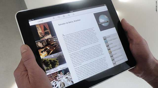 The Libroid app allows authors to add multimedia to their e-books.