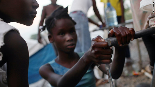 Websites and health workers are using technology to try to map cholera cases and clean water sources in Haiti.