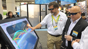 Indiana University developed Worldview, an interactive 3-D visualization system used by researchers around the world.