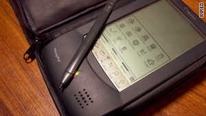 Apple's primitive Newton tablet was ahead of its time.
