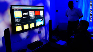 Google TV launched this year and struck deals with HBO, Pandora and Netflix.