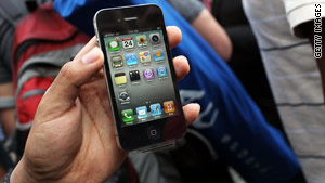The iPhone 4 was unveiled in June, but there were some complaints about its reception strength.