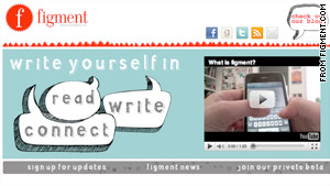 Figment.com will encourage young writers to compose on their cell phones.