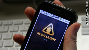 Recalls.gov offers details on federal product recalls and is one of 17 free mobile apps on Apps.USA.gov.