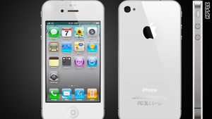 Apple says production of the white iPhone 4 has been challenging.