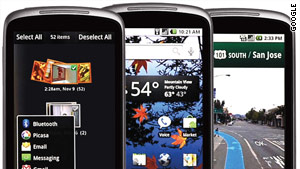 Phones running Google's Android operating system have become increasingly popular in recent months.