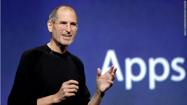 Steve Jobs, taking part in Apple's earnings call Monday, blasted the competition, including Google and its Android software.