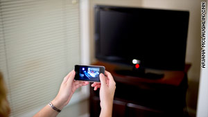 Users ditch TVs for smartphones