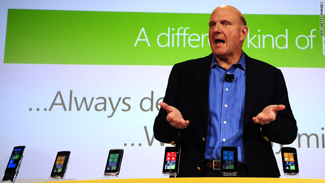 Steve Ballmer's Windows Phone 7 may need to attract developers in order to be successful.