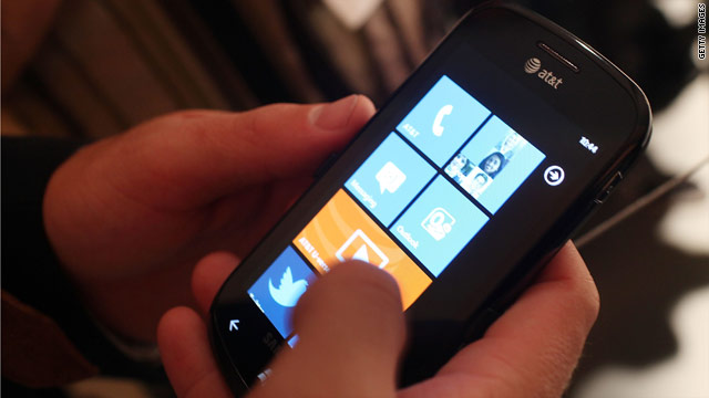 Samsung Electronics makes one of the first two Windows Phone 7 devices available in the United States.