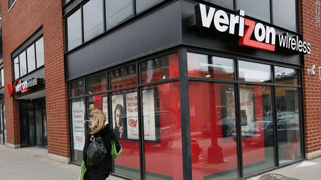 Some Verizon users were unable to access the mobile Web early Wednesday morning.