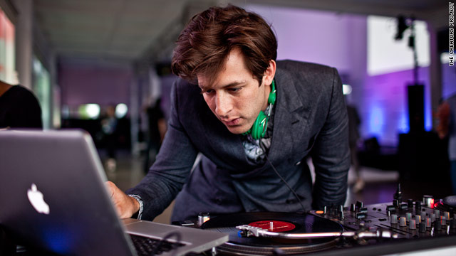 Mark Ronson performs at a launch event for the Creators Project, the first of five global conferences highlighting art and music.