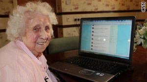 Ivy Bean, 104, lived in northern England and was believed to be the oldest regular user of Twitter.