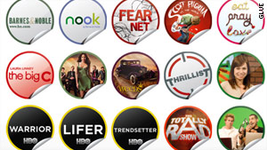 GetGlue users can earn both virtual stickers and real ones for loyally checking into sponsored entertainment.