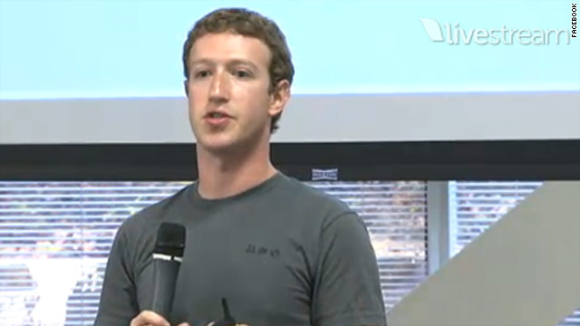Facebook CEO Mark Zuckerberg announces Facebook Groups, a way to divide friend lists based on interests.