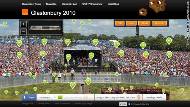 More than 7,000 festival-goers recently set a Guinness World Record The Most People Tagged in an Online Photo.