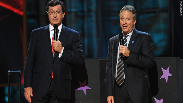 While young voters may not flock to the polls, many use Stephen Colbert and Jon Stewart as their primary news sources.
