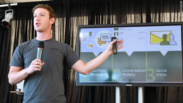 Facebook is overhauling its messaging system, said CEO Mark Zuckerberg at an event Monday.