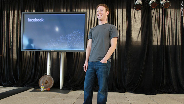 Facebook CEO Mark Zuckerberg predicts great opportunity for entrepeneurs, whereas larger companies could struggle.