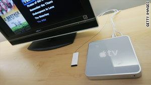 Apple appears to be moving further into the market for online and mobile television.