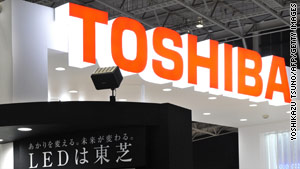 Toshiba has received 129 reports of the laptop computers overheating.