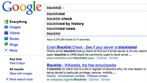 Google has opened itself up to a potential PR problem as some of the omissions could be offensive.