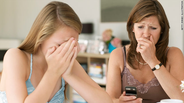 Texting is one of the ways teens and younger kids can be bulied. Parents can help by being quietly engaged.
