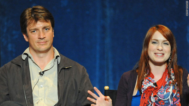 Actress Felicia Day, pictured with actor Nathan Fillion, will be a keynote speaker at South by Southwest Interactive.
