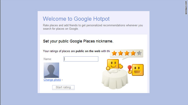 With Hotpot, users will be encouraged to rate and review businesses directly from their Google-linked profile.