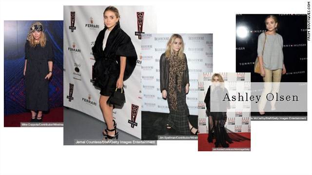 Google has launched Boutiques.com, a site that includes pages devoted to the styles of female celebs such as Ashley Olsen.