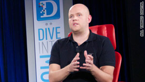 Spotify CEO Daniel Ek is confident he can bring the music-streaming service to the U.S., despite challenges.