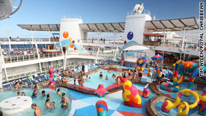 Family fun aboard the biggest cruise ship