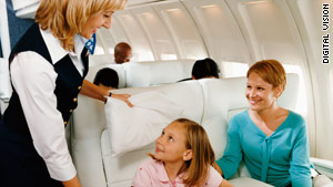 Can friendliness take you to the first class cabin?
