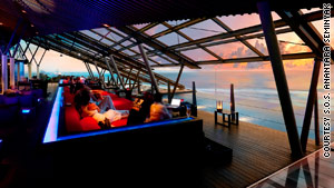 Restaurant escapes with exotic views