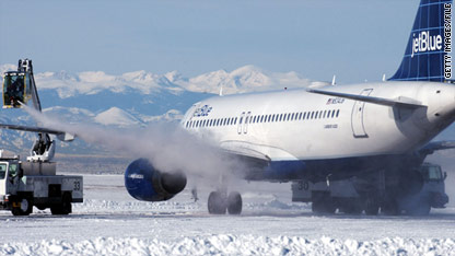 Airplane deicing: The how and why