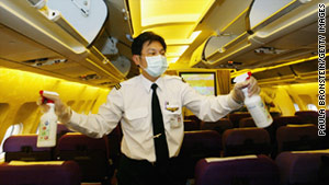 6 places germs breed in a plane