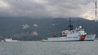 U.S. military aid reaches Haiti.