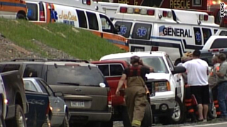 An explosion at one of Massey Energy's coal mines in West Virginia killed at least 25 workers and left 4 missing.