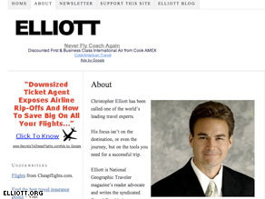 Blogger Christopher Elliott wrote on his site that he would fight a TSA subpoena in court.