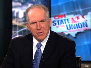 John Brennan, an adviser to the president on counter-terrorism, said the Obama administration still intends to send some Guantanamo detainees back to Yemen despite a terrorist threat there.