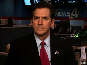 Sen. DeMint said Sunday that the president has been 'completely distracted by other things.'