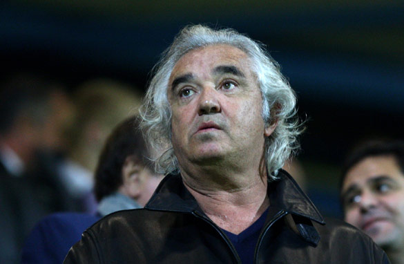 Flavio Briatore contemplates his future.