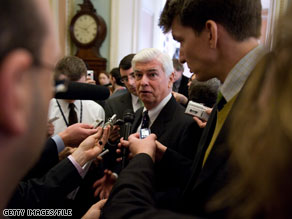 A senior Democratic official told CNN Wednesday that party officials felt Sen. Chris Dodd's re-election race was 'virtually unwinnable' for Democrats.