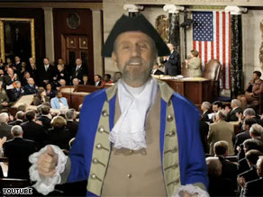Songwriter Ray Stevens dresses as a founding father in his YouTube sensation &#039;We the People.&#039;