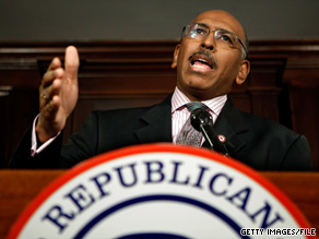 Michael Steele met privately with 50 Tea Party leaders in Washington on Tuesday.