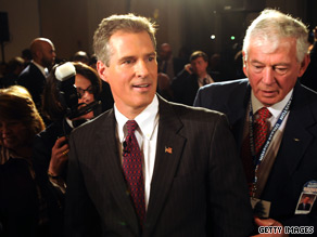 Republican Scott Brown is now in a toss-up Senate race in Massachusetts, according to two non-partisan political analysts.