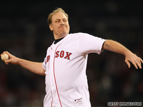 Former Red Sox ace Curt Schilling blasted Martha Coakley Saturday after the Democrat told a Boston radio talk show host that Schilling, a Republican, is a Yankees fan.