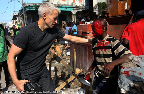 haiti..ac.boy.4 Anderson in the midst of looting chaos